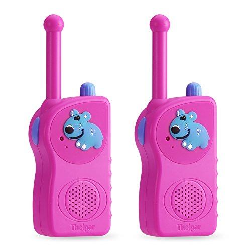 Theipar 3 Mile Range rechargeable Durable best Kids Walkie Talkies&two way radio for kids