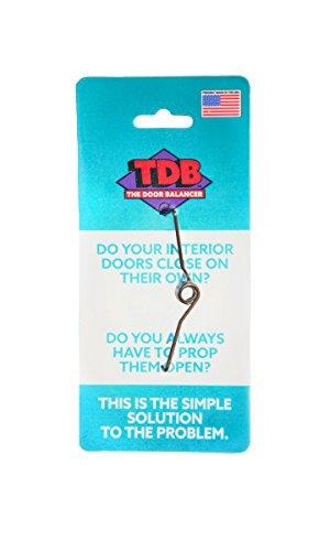The Door Balancer Eliminates The Need for Door Props, Door Stops and Door Wedges