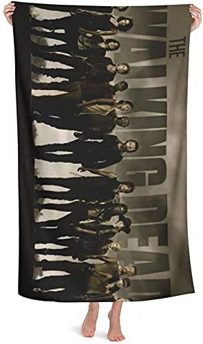 QWAS Walking Dead - Toalla de playa (4,75 x 150 cm)