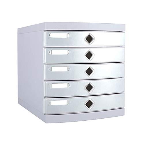 QZ Cabinet per Ufficio Desktop Moderno Modern Fashion Cassetti per Ufficio A 5 Livelli Armadi per Dati Scatola di Immagazzinaggio per Schedari