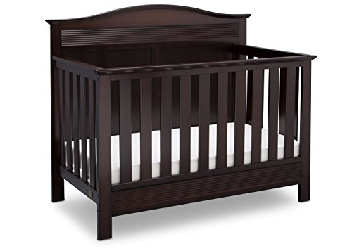 Fantastic Deal! Serta Barrett 4-in-1 Convertible Baby Crib, Dark Chocolate