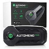 Automend Pro OBD2 Bluetooth Scanner - Accesorios para coche | Scanner de diagnóstico y lector OBD2 para iOS, Android | Autodiagnóstico profesional OBD2 para vehículos | Lector de códigos de vehiculos
