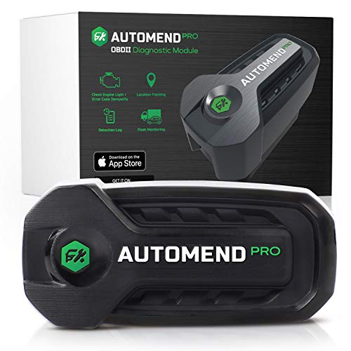 AUTOMEND PRO OBD2 Scanner Bluetooth - Code Reader Car Diagnostic Tool For iOS, Android | Universal OBD2 Scanner For Vehicles | OBDII Scanner and Vehicle Health Monitor | Check Engine Light Code Reader