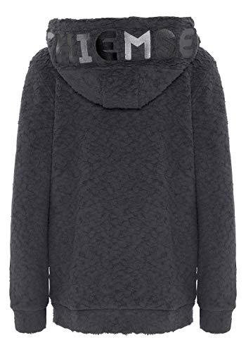 Chiemsee Sweatshirt mit großem gestickten Logo XL Ebony