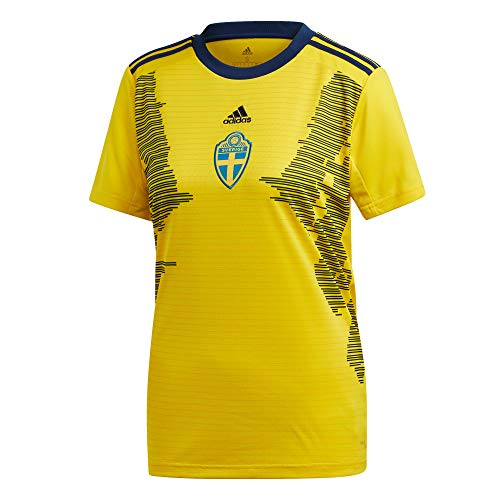 adidas Sweden Home Jersey Women's World Cup 19/20 (XS) Yellow