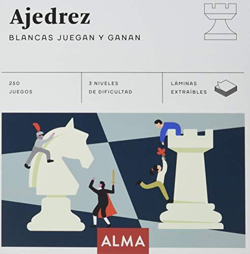Ajedrez. Blancas juegan y ganan: 25 (Cuadrados de diversión)