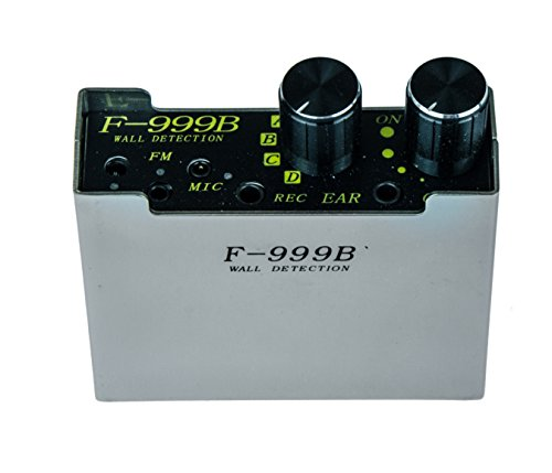KOBERT GOODS F-999B Abhörgerät Wanddetektor mit Nadelmikrofon Stethoskop durch Wände hören Geräuschverstärker