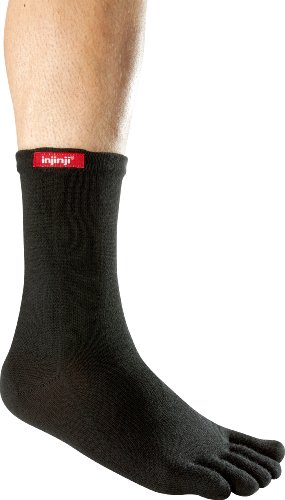 Injinji Performance Sport Original Weight Crew CoolMax Toe