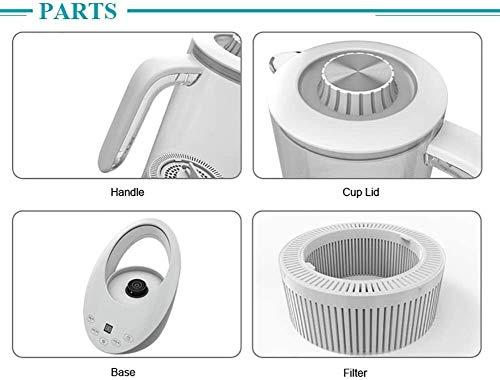 Leilims Hydrogen Générateur d'eau bouilloire, plus haut modèle – de catégorie alimentaire PC Hydrogen Générateur d'eau SPE PEM Water Technology ioniseur Filter