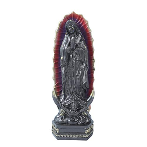 N/A/ Our Lady Of Guadalupe Blessed Mexico Virgin Mary Catholic Figurine for Decor Virgin Mary Ornaments Of Mexico Of