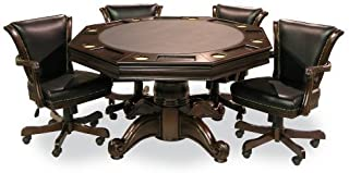 Executive Game Table Set (with 4 Chairs)