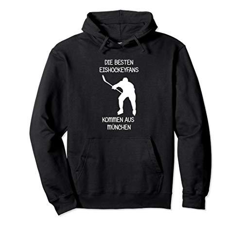 Eishockey Fan München Pullover Hoodie