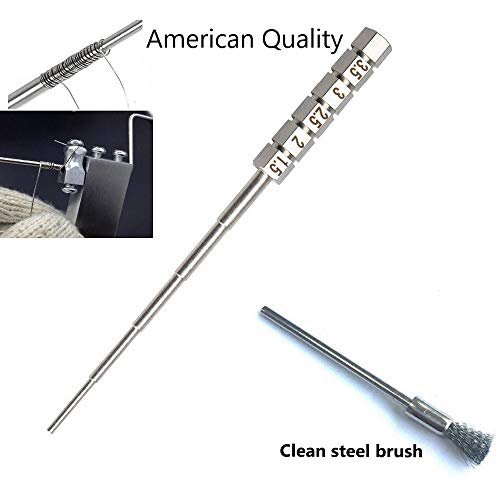 Coil Jig Stainless Steel Coil Jig Winding Rod DIY 5 Resistance Optional