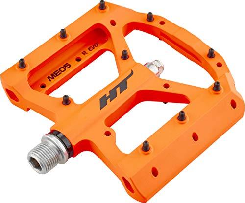 HT ME05Pedale Flache Magnesium Unisex Erwachsene, Neon Orange
