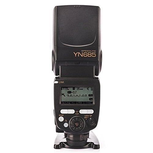 YONGNUO YN685/N i-TTL Speedlite Flash inalámbrico para Nikon + NAMVO difusión