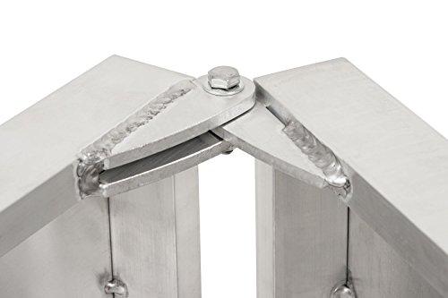 Faltbare Aluminium Hunderampe in verschiedenen Längen - 6