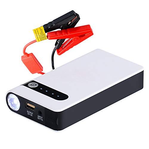 MUXIN Auto Starthilfe Powerbank, 12000mAh, 12v Powerbank Auto Starterbatterie, 12V Autobatterie Anlasser(Bis zu 5.0L Benzin oder 3.0L Diesel) mit USB-Schnellladung und LED Taschenlampe