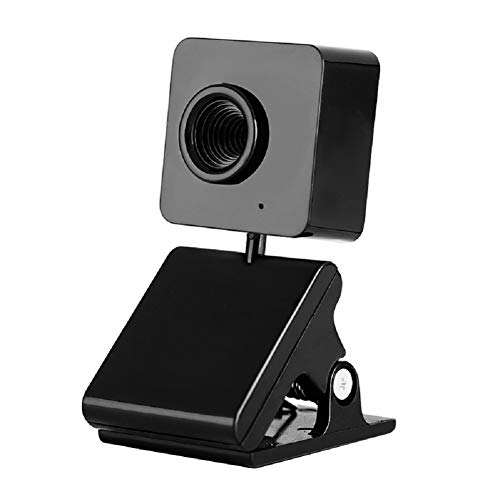 LinZec T60 Clipcamera, 360° draaibaar, ingebouwde microfoon, HD-computercamera voor Notebook/LCD-computer/TV/CRT-monitor
