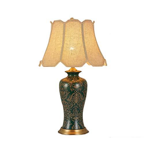 CCLL Amerikanische Keramik Schreibtischlampe Schlafzimmer Nacht Kreative Heimat Villa Wohnzimmer Tischlampe Reading lamp