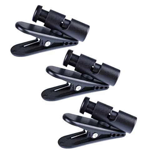 NUOBESTY Kopfhörer Draht Clip Headset-Clip Clip-Klemme für Hörmuschel-Kopfhörer Kopfhörerkabel Kleidung Clip Kabel Clip für Kopfhörer Kopfhörer Headset 3 Stücke Ohrhörer-Clip