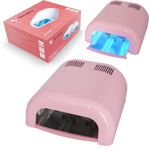 UV nagel lamp / nagel oven TUNNEL met timer UVT-36, BARBIE ROZE. Professionele nageldroger voor gels, gel polish, gel nagellak, gellak en andere nagelproducten! Voor nagelstyliste / pedicure / manicure. Op zoek naar een goede nagel lamp?