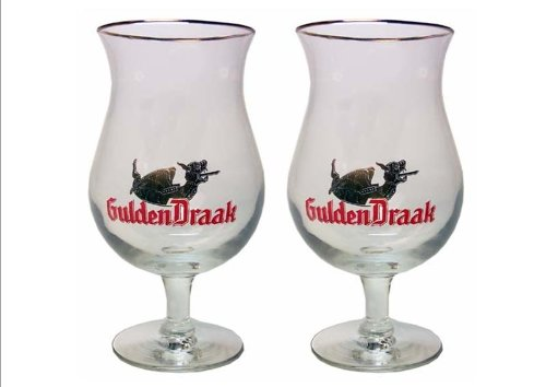 Gulden Draak Belgien Bierglas-Set (2)