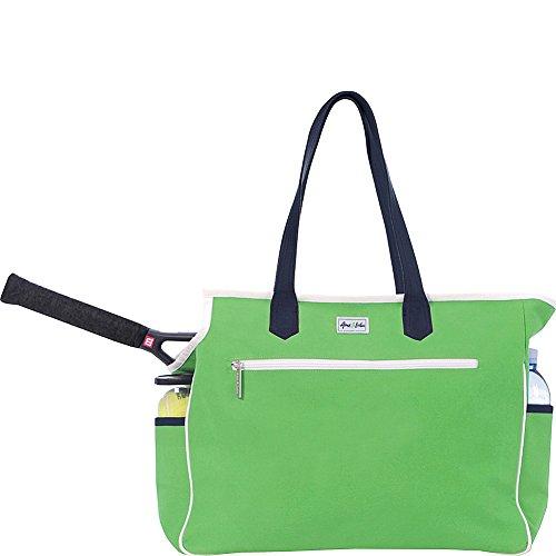 Ame & Lulu Kensington Court Bag (Green/Navy)