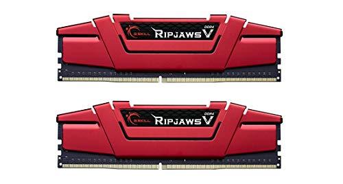 G.Skill Ripjaws V Series 16GB (2 x 8GB) 288-Pin DDR4 2400 (PC4 19200) Intel Z170 X99 Desktop Memory F4-2400C15D-16GVR