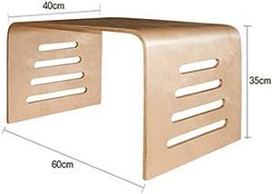 PM-Nightstands JIAYOUBA Solid Wood Racks, Modern Minimalist Office Computer Desk +++