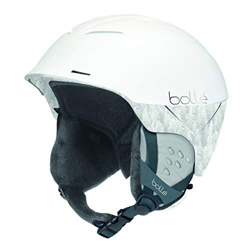 Bollé - SYNERGY - Casque de ski - Mixte - Adulte - - Blanc - (Matte White Forest )- 58-61CM