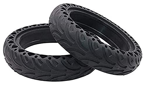 HMHMVM Electric Scooter Tires, 8.5 Inch 8 1 / 2x2 Explosion-Proof Honeycomb Tires, Wear-Resistant Shock Absorption, Suitable for M365 Electric Scooter tyre