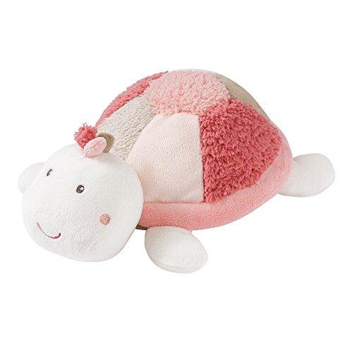 Fehn 068672 Wärmetier Schildkröte – wohltuendes Traubenkernsäckchen in niedlicher Schildkröten-Optik für Babys und Kleinkinder ab 0+ Monaten – Größe: 23 cm