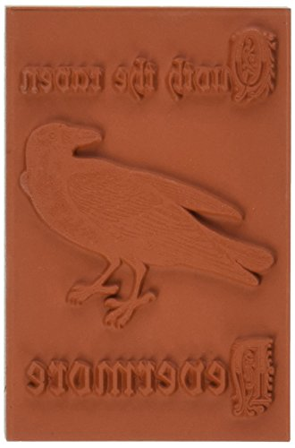 Deep Red Stamps Rouge Profond Tampons en Caoutchouc étirable Stamp 7,6 cm X 2-inch-Quoth The Raven
