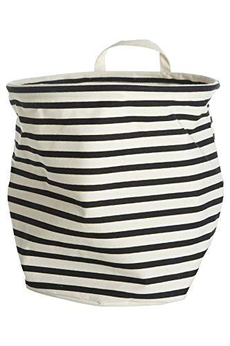 House Doctors Storage, Stripes, Dia.: 30 cm, h.: 30 cm, 37.5% cotton/40.4% polyester/22.1% Rayon