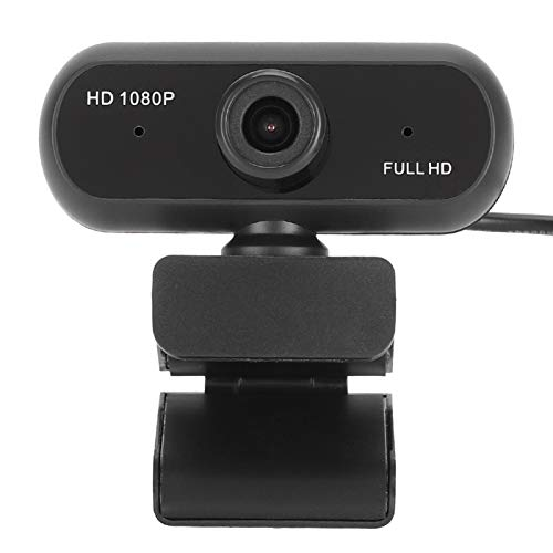 Bindpo Mini Webcam with Microphone, USB2.0M HD 1080P Web Camera for PC Computer Laptop, Plug and Play, Streaming Webcam for Skype/Zoom/YouTube/WeChat