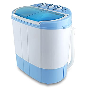 Pyle PUCWM22 Compact & Portable Mini Washing Machine and Spin Dryer