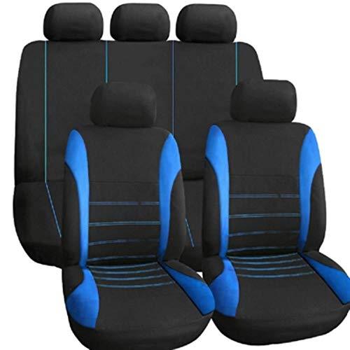 Gbcype, autostoelhoezen voor auto, 9 stuks/set stoelhoezen voor autostoel, universele bescherming voor interieur, decoratie auto styling