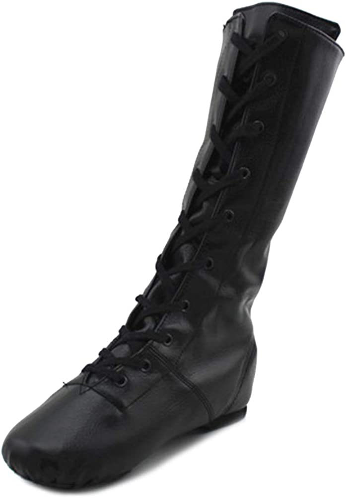 市場 VCIXXVCE High-Top Jazz Boots Lace Up Wome 店内全品対象 for Shoes Modern Dance
