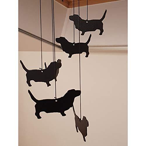 Profiles Range Carillon A Vent (Wind Chimes) sur Le Theme du Basset Hound