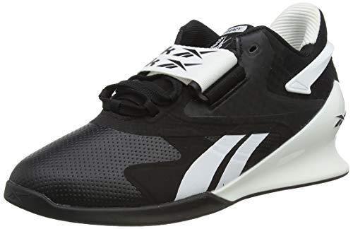 Reebok Legacy Lifter II, Zapatillas de Deporte Mujer, Negro/Blanco/PUGRY6, 39 EU