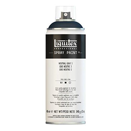 Liquitex Professional - Acrílico en spray, 400ml, gris neutro 3