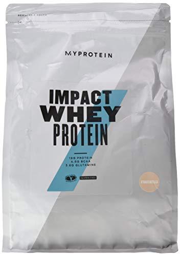 MyProtein Impact Whey Proteïne | Bevat 82 g eiwit per 100 gram | Vet- en lactosearm | Rijk aan calcium | Inhoud: 1000 gram