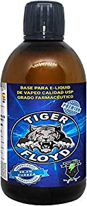 Base - 100% GLICERINA VEGETAL (VG) | 500 ML | Marca: Tiger Floyd | Sin Nicotina: 0MG | Calidad USP - Grado Farmacéutico - alquimia Pureza Certificada | Puzera 99%