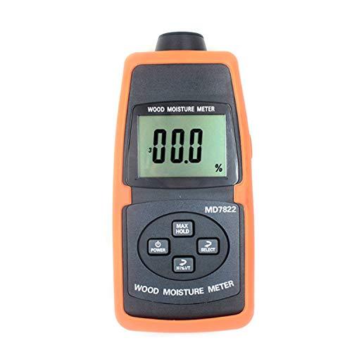 Messgerät Getreidefeuchtemessgerät LCD-Display Digitaler Getreidefeuchtemessgerät Enthält Weizen Mais Reis Feuchtigkeitsmesser ATC und Hintergrundbeleuchtung MD7821 MD7822 Digitalanzeige (Stil: MD7821