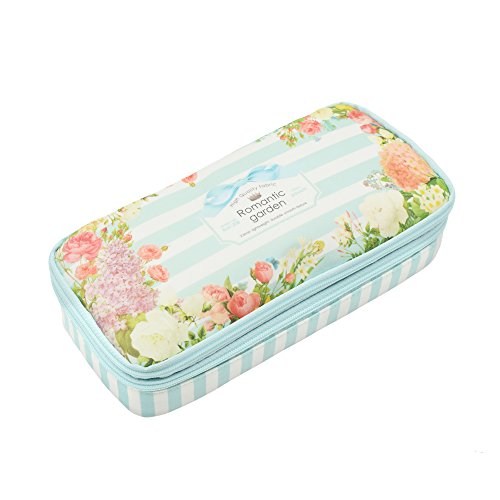 Twinkle Club Big Capacity Pencil Pen Case Bag Pouch Holder for Middle High School College Office Girl Storage
