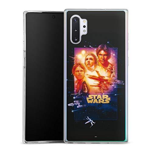 DeinDesign Slim Hülle extra dünn kompatibel mit Samsung Galaxy Note 10 Plus Silikon Handyhülle transparent Hülle Star Wars Fanartikel Special Edition