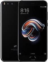 هاتف شاومي ريدمي مي نوت 3 A1489 ثنائي الشريحة 128 جيجابايت، 6 جيجابايت، شبكة الجيل الرابع ال تي اي - أسود