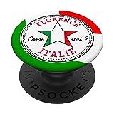 Florencia Toscana Italia turismo Italia recuerdo de vacaciones PopSockets PopGrip Intercambiable