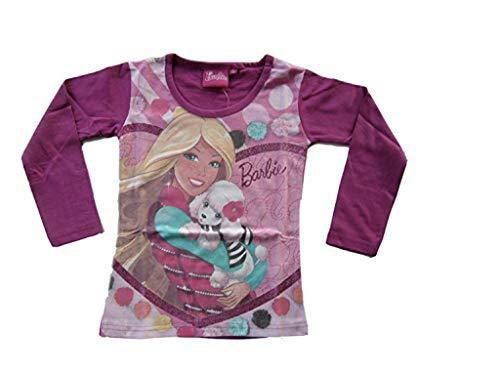 Barbie - Camiseta de manga larga en 2 colores, color morado