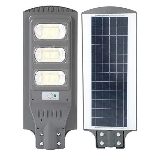 futd Lámpara De Calle Solar, 150W Luz De Calle De Energía Solar Luz del Sensor De Movimiento con 351LED Chips De Luz De Alto Brillo, Impermeable Lámpara De Exterior para...